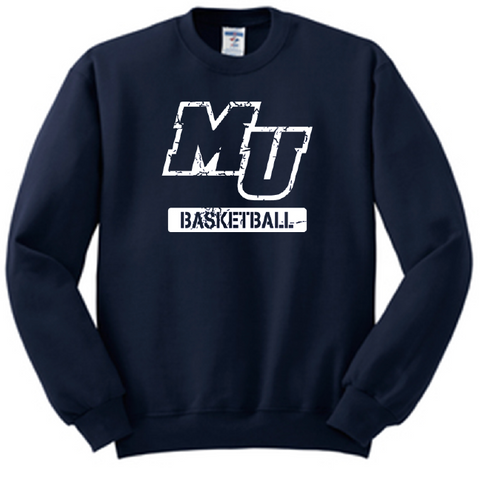 MU Basketball Crewneck