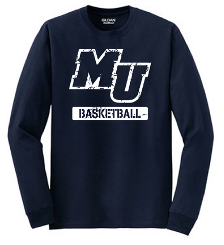 MU Basketball Long Sleeve Tee