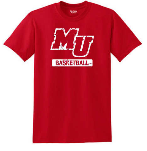 MU Basketball Short Sleeve Tee