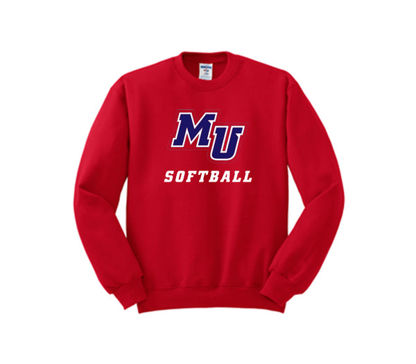 MU Softball Crewneck
