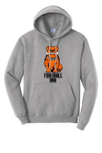Green Football Unisex Hooded Sweatshirt