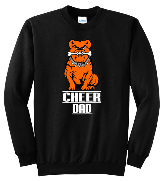 Green Cheer DAD Crewneck Sweatshirt