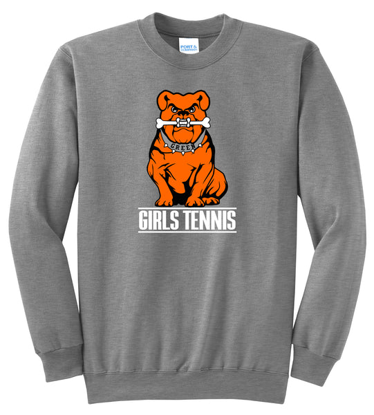 Green Girls Tennis Unisex Crewneck Sweatshirt