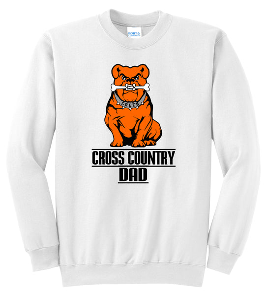 Green Cross Country Men's DAD Unisex Crewneck Sweatshirt