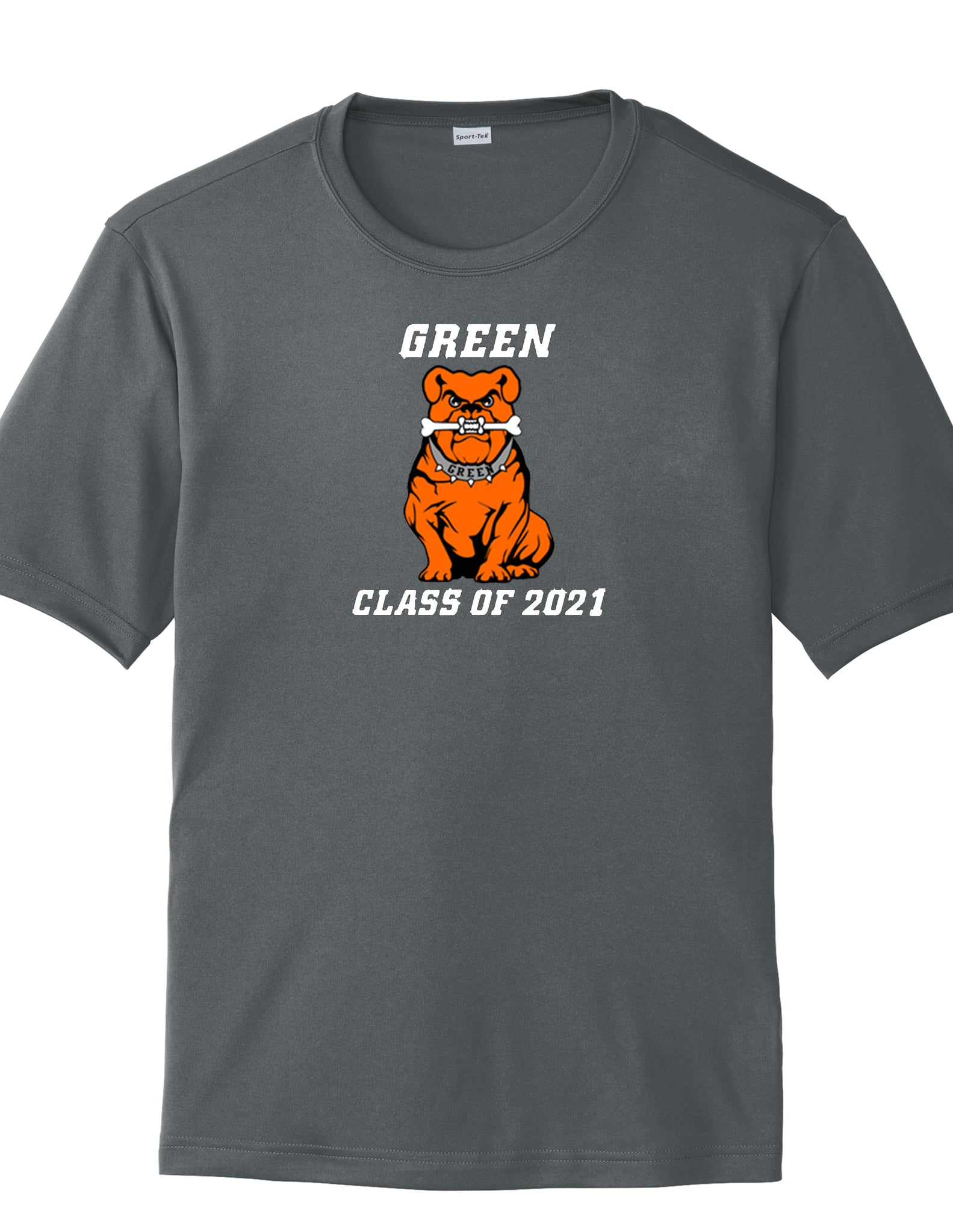Green Class of 2021 Men's Polyester Tee