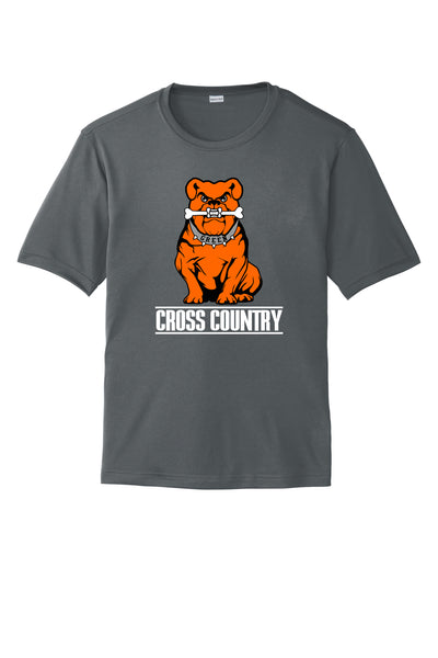 Green Cross Country Men's Short Sleeve Tee Shirt