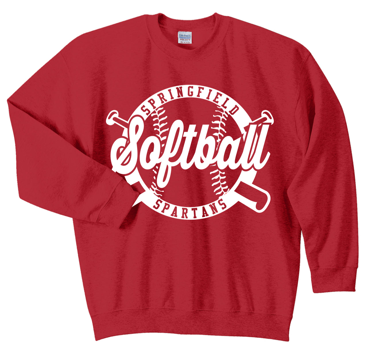 Springfield Softball Crewneck Sweatshirt