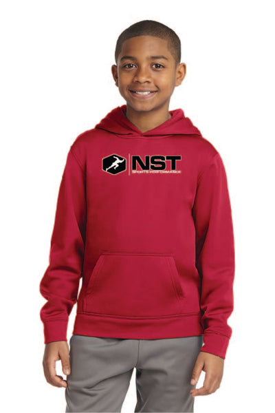 Youth Sport Fleece Hooded Sweatshirt