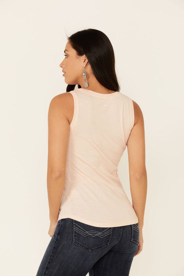 Wall Flower Trustie Tank Top - Blush