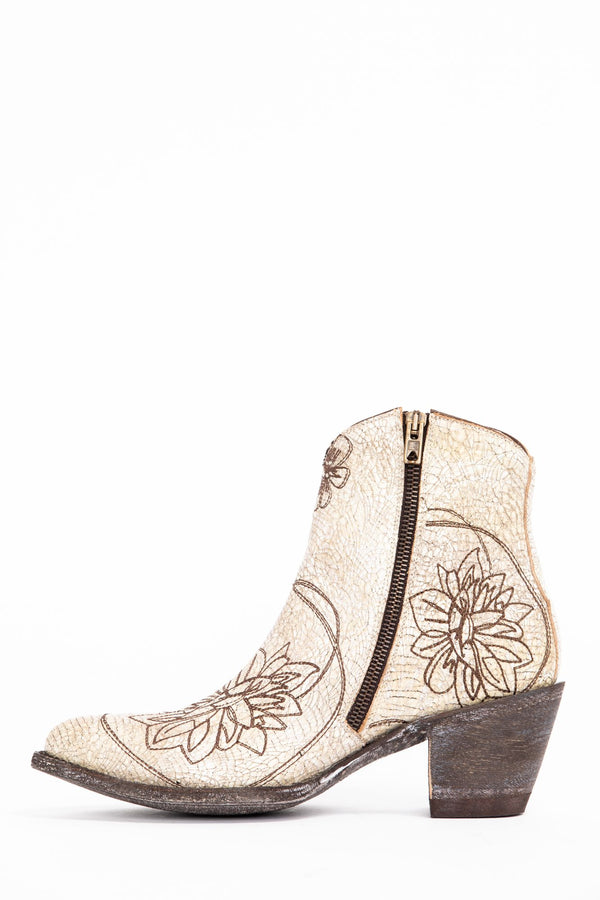 new season cheap for discount bright n colour Vegas Western Booties - Round Toe