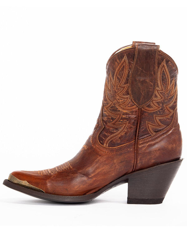 Wheels Western Booties - Pointed Toe