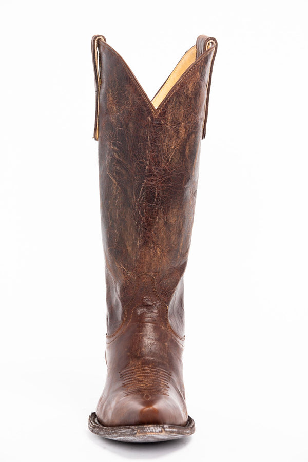 Wildwest Brown Western Boots - Snip Toe - Brown