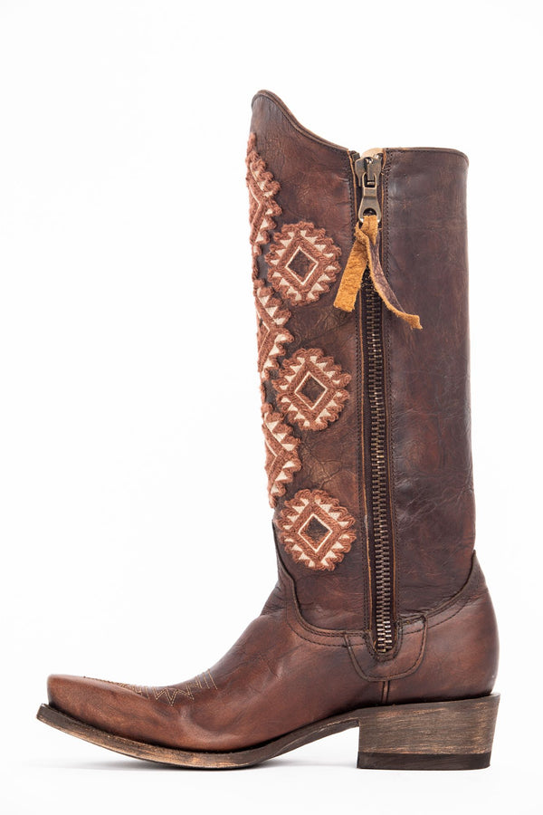 Vagabond Western Boots - Pointed Toe - Brown