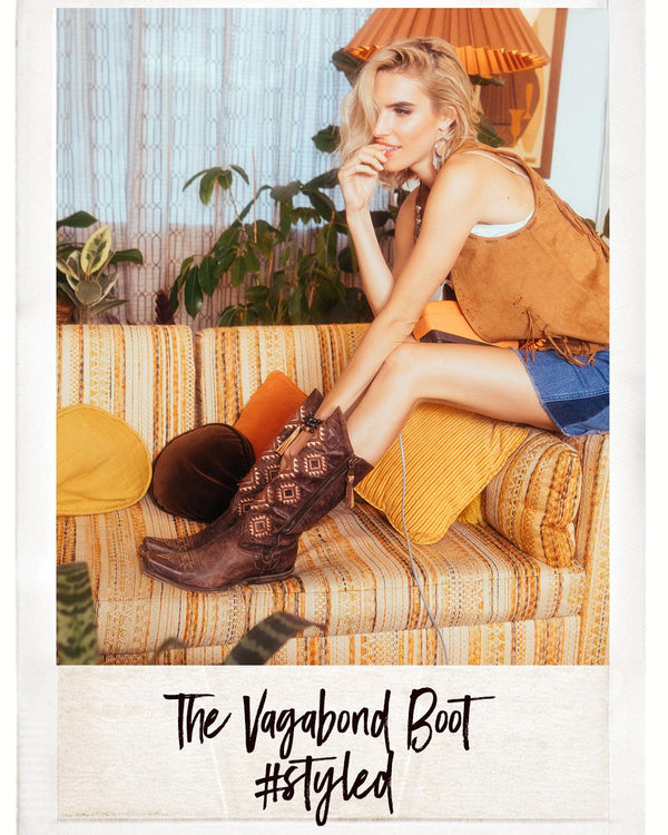 Vagabond Western Boots - Pointed Toe