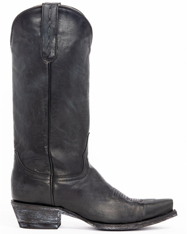 Wildwest Black Western Boots - Snip Toe