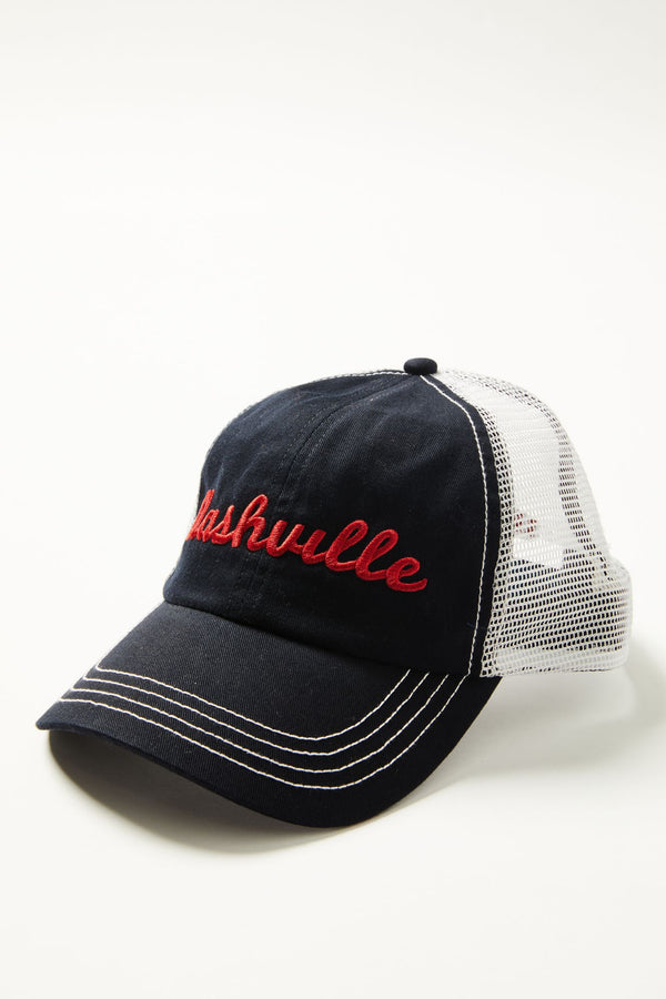 Nashville Ball Cap - Grey