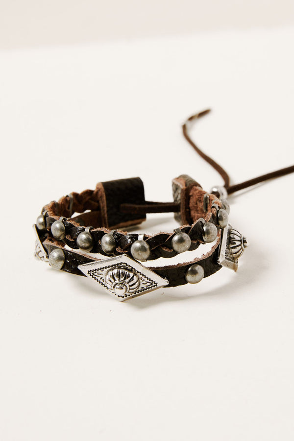Can't Be Tamed Bracelet - Silver