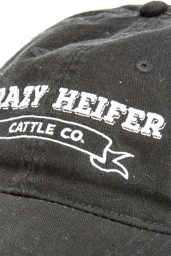 Crazy Heifer Baseball Hat - Blue