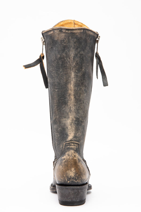 Latigo Western Performance Boots - Snip Toe - Black/tan