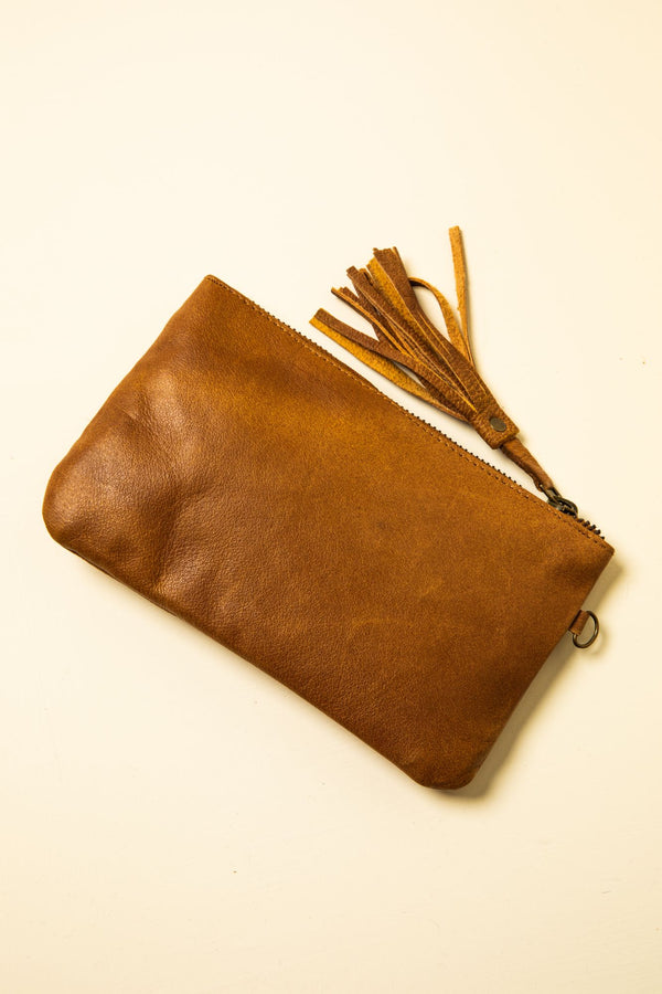 Boss Lady Clutch - Brown