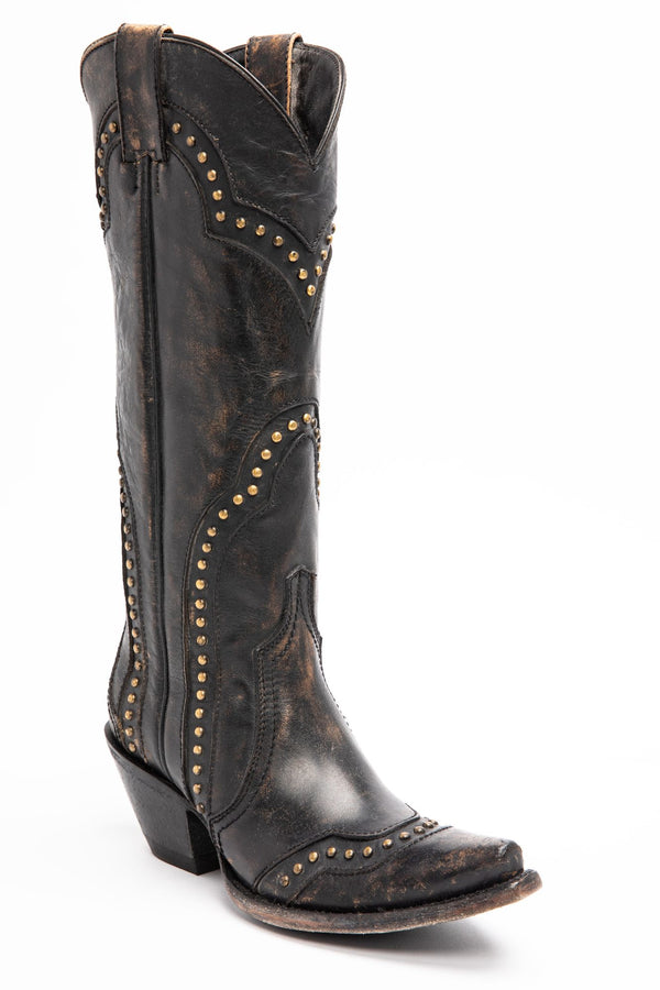 Rite A Way Western Boots - Snip Toe - Black