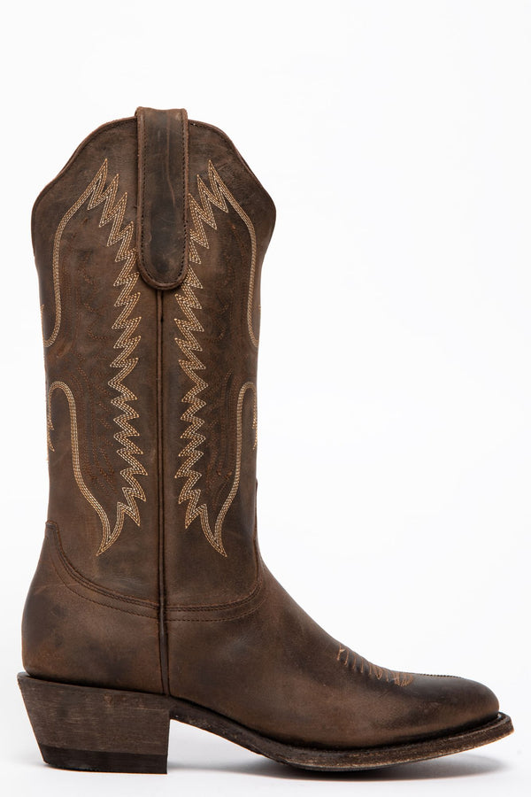 Soaring Eagle Western Performance Boots - Round Toe - Brown