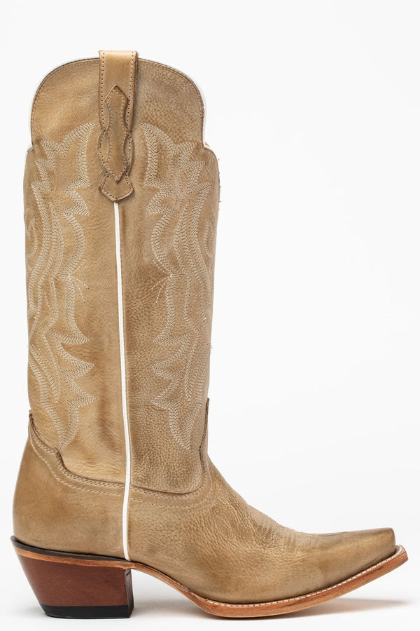 Britches Western Boots - Snip Toe - Cream
