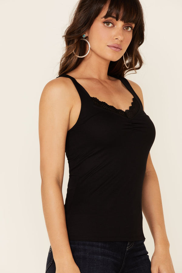 Risky Business Tank Top - Black