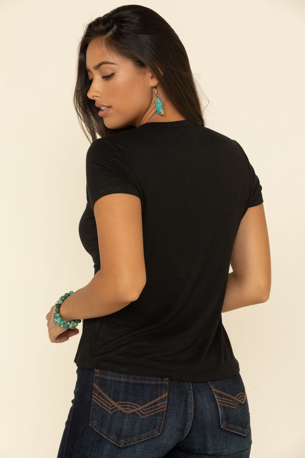 Twisted Dalience Top - Black