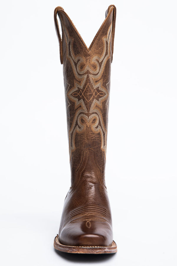 Relic Western Boots - Narrow Square Toe - Brown