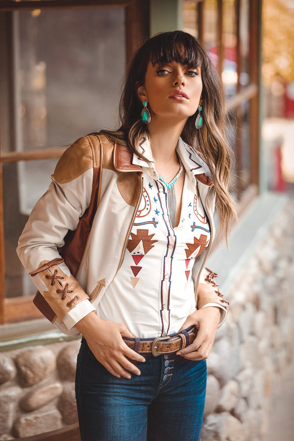 Truly Western Leather Jacket