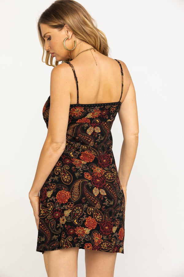 Heart Breaker Dress - Burgundy