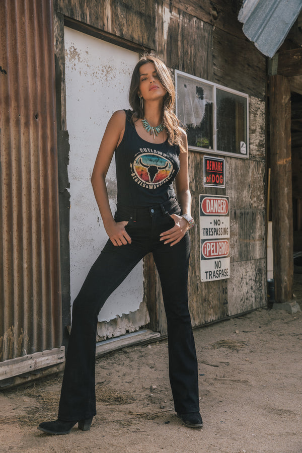Outlaw Corset Tank Top