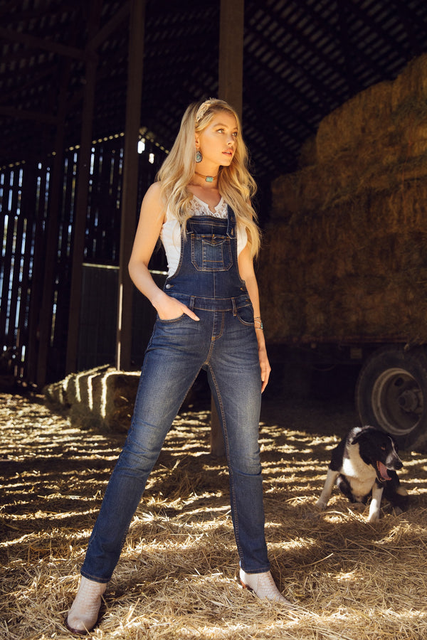 Yes Ma'am Jean Overalls