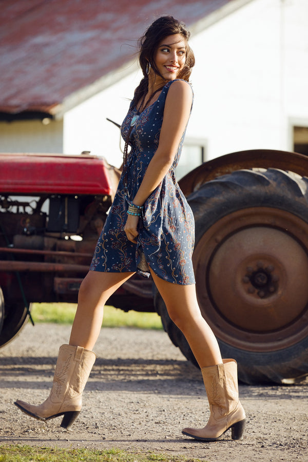 Downtown Western Corset Dress
