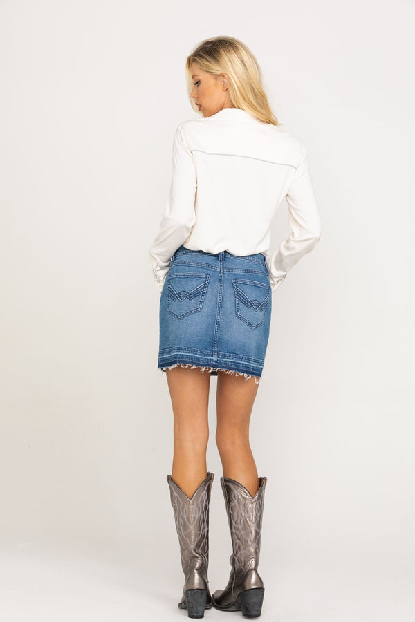 Dolly's Denim Skirt - Blue