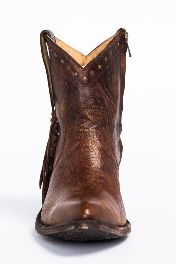 Maverick Western Boots - Pointed Toe - Brown