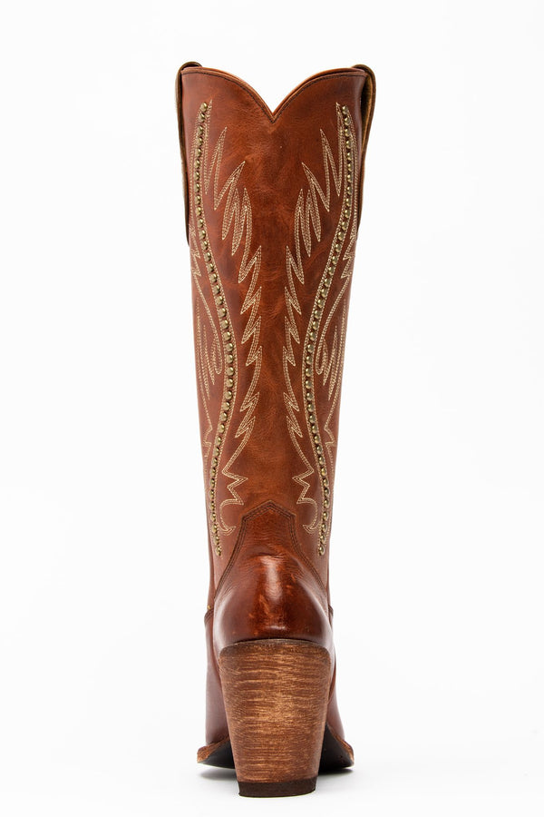 Stance Western Boots - Round Toe - Cognac