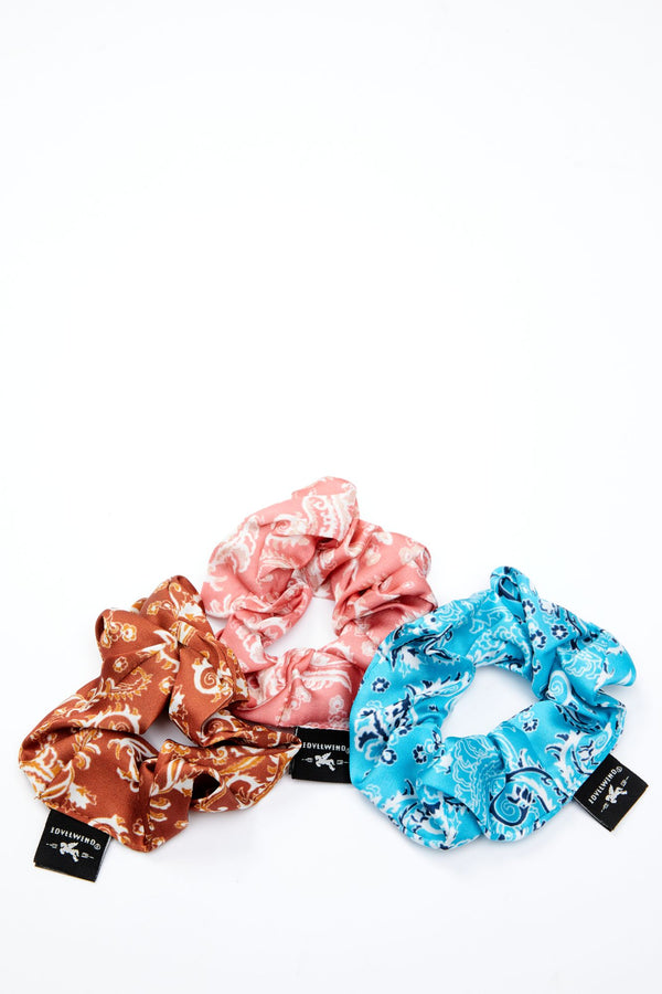 Hold Your Ponies Scrunchie Pack - 3 Pack - Multi
