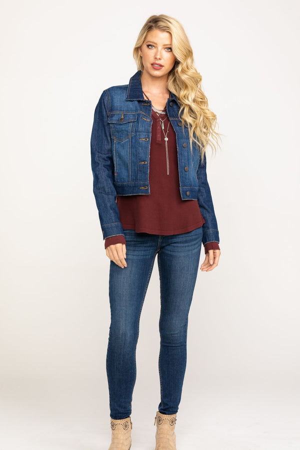 Trucker Daze Denim Jacket - Blue