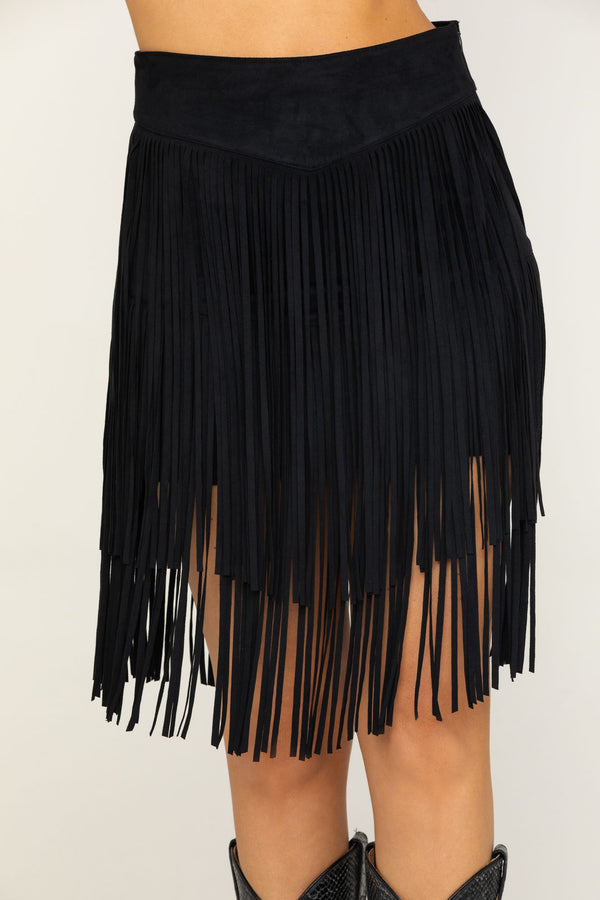 Frill Seeker Skirt - Black