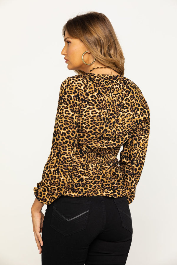 On The Prowl Top - Leopard