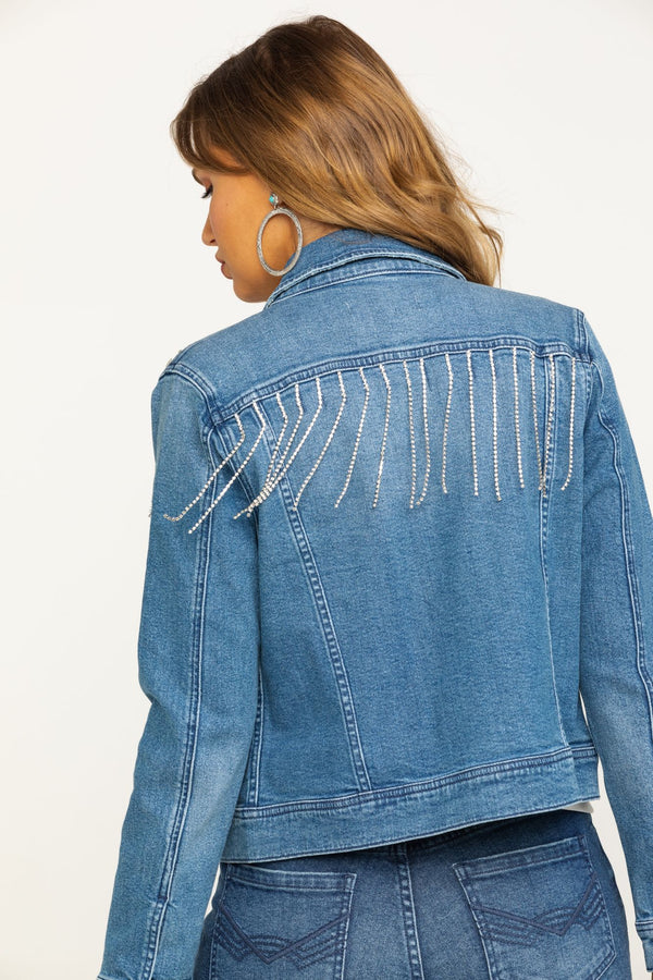 Dolly's Denim Jacket - Blue