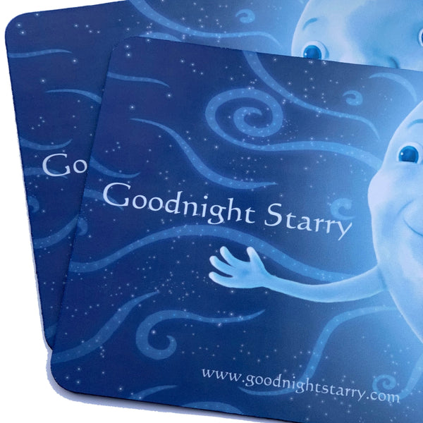 Goodnight Starry Mouse Mat