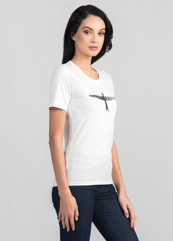 Women's Project U Kite Print Tee