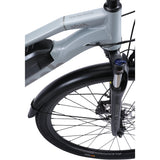 Overhead Front Fork Details of Jaunt 1 Electric Bike by Sinch eBikes