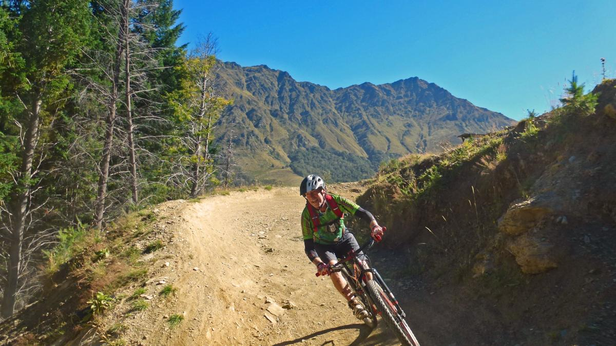 The Queenstown Rail Trail