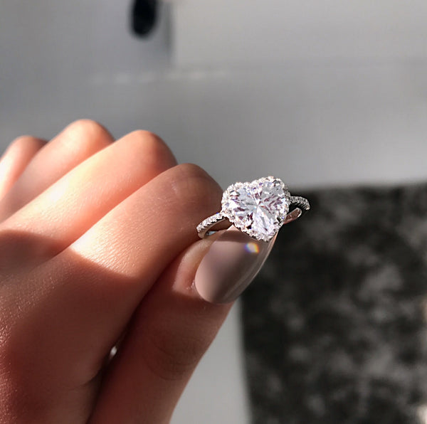 Eevee's Silver Heart Ring
