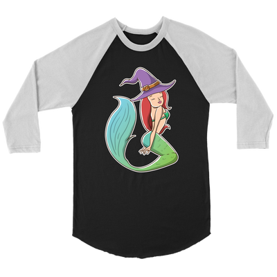 Witch Mermaid Raglan