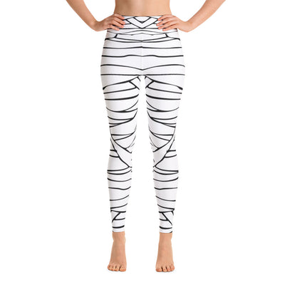 Mummy Halloween Yoga Leggings